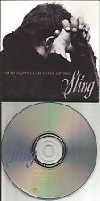 The Police STING I'm So happy I can't CARD SLEEVE PROMO Radio DJ CD single 1996