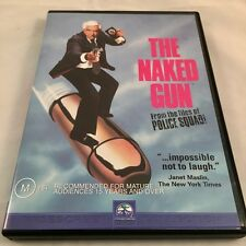 The Naked Gun - Leslie Nielsen Region 4 PAL, from Private Collection