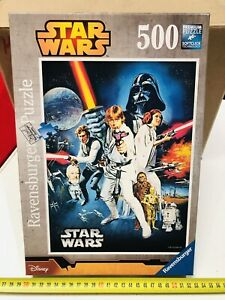 Star Wars Ravensburger Disney 500 Pieces Brand New Vintage