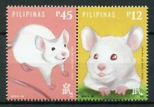 Philippines Chinese Lunar New Year Stamps 2019 MNH Year of Rat 2020 2v Set