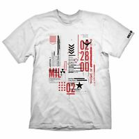 CALL OF DUTY COLD WAR DEFCON-1 T-SHIRT WHITE X-LARGE - GAMING MERCHANDISE