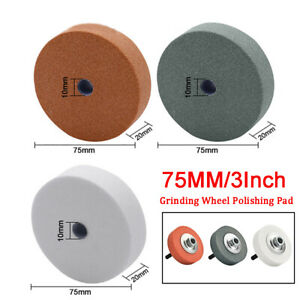 75mm Grinding Polishing Wheel Ceramic Abrasive Rotary Die Grinder Drill Bit Tool