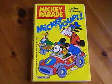 MICKEY PARADE n° 66 MICKEY YOUPI ! de 1985 bon état, coin 4em plat coupé