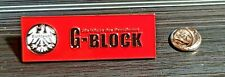 Eintracht Frankfurt SGE Pin G-Block - Maße 46x16mm