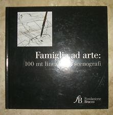 FAMIGLIA AD ARTE - 100 MT LINEARI x 8 SCENOGRAFI - 2012 FONDAZIONE BRACCO (EF)