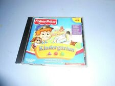 "Cd-Rom Educational Fisher Price ""Kindergarten"" Ages 4-6"
