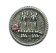 Noosa Style Chunks Snap Button Charms Ginger Snaps Charm Silver Pink Owls 20mm