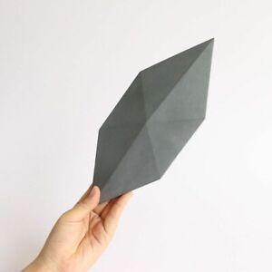 Diamond Design Wall Brick Silicone Mold Cement Gypsum DIY Modern Stone Mould