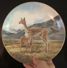 """Vintage W.S. George - Will Nelson """"THE VICUNA"""" Ninth Issue Plate 1991"""
