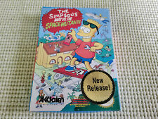 The Simpsons Bart vs The Space Mutants - Nintendo NES - Authentic - Box Only!