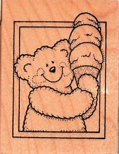 Teacher/'s Rubber Stamp Great Job Cheerleader Bear