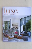 Magazine - Interior Design - Luxe Interiors + Design - September/October 2018