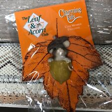 The Leaf and Acorn Club Charming Tails Pin Member Exclusive Mouse