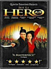 Hero (Dvd, 2004) Jet Li World Ship Avail