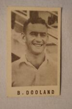 1940's Vintage G.J.Coles Cricket Card -  B.Dooland - South Australia