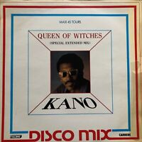 "VINYL/LP/12"": KANO - QUEEN OF WITCHES - DISCO MIX"