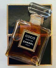 Chanel COCO parfum 7,5 ml 1/4 FL OZ VINTAGE FLACON EN CRISTAL