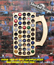Beer Mug Custom Beer Pop Cap Holder Traps Collection Display Art Gift Man Cave