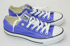 Converse All Star Chuck Taylor Low Sneaker Lace Up Purple Womens Sz 6.5 NEW (H9)
