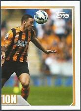 TOPPS 2014/15 PREMIER LEAGUE #152-HULL CITY V STOKE IN MATCH ACTION-RIGHT HALF