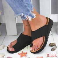 Femme Eté Plage Sandales Tongs Fille Chaussures Pantoufles Flip-Flop Compensée