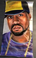 Kanye West Painting. Original. Rare 2005 JESUS IS KING