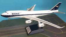 Inflight BA100 BOAC British Airways B747-4 100th Anv G-BYGC Diecast 1/200 Model