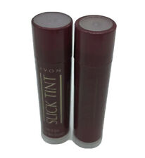 AVON Slick Tint Lip Gloss GLOSSY WINE .15 OZ  RARE NEW SEALED Lot Of 2