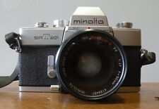 Vintage minolta srt 201 camera with Rokkor-X 50mm lens