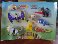 2017 McDonalds Pokemon Happy meal toy display- great condition all toys included