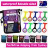 Nurse Pouch FOB Silicone Nurse Watch Extra Pocket Wallet Pick Bag wt Strap Belt