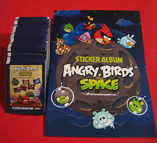 Angry birds space 50 pochettes + album-Leeralbum - 250 stickers-top rar