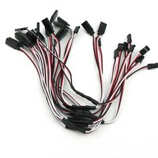 NEW 10pcs RC Servo Y Extension Cord Cable Wire 300mm for JR Futaba E