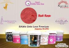 Cake Lace Edible | Rose Gold  | Pearled | 100 Grams | Premix | Flexible