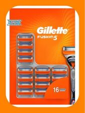 Gillette Fusion5 Manual Razor Blades 1 x 16 Pack 100% Genuine FAST FREE POSTAGE