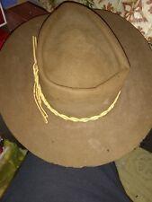 vintage Stetson Brown cowboy hat 4x Beaver size 7