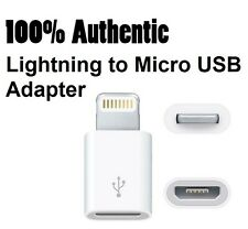 Genuine Original OEM APPLE Lightning to Micro USB Adapter Converter MD820AM/A