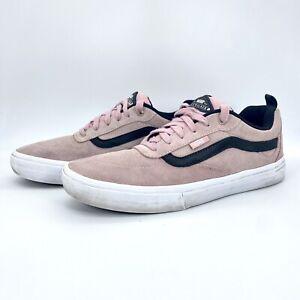 Vans Kyle Walker Pro Vans Pink Black Men's Size 10 SKATE Shoes Suede