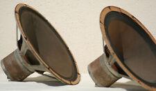 philips alnico fullrange speakers loudspeaker 12 vintage klangfilm magnet pair