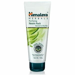Purifying Neem & Turmerik Face Pack Mask Himalaya Oily & Pimple-Prone Skin 75ml