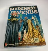 Merchant Of Venus Avalon Hill Game Pre-Owned Complete