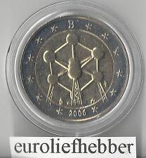 België    2  Euro  Commemorative   2006  UNC   ATOMIUM    IN   CAPSULE