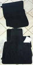 """BMW OEM """"INDIVIDUAL"""" E53 X5 2000-2006 Velour With Leather Border Floor Mats NEW"""