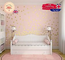 Polka Dot Wall Stickers Children Nursery vinyl Art Decor Spots Circle-  8 Sizes!