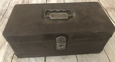 Vintage Hamilton Climax Fishing Tackle Box-Re-painted-Please See Pics