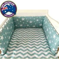 Baby Nursery Thickened Around Cot Crib Cushion Bed Protector Safety Pillow Decor