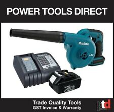 NEW MAKITA 18V CORDLESS DUB182Z BLOWER KIT WITH BL1830 3AMP BATTERY & CHARGER