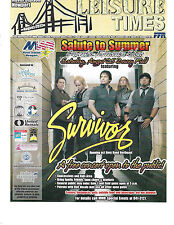 "Survivor-US Naval Station Newport,R.I. Program ""Leisure Times""  Aug 25,2012"