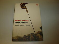 PODER Y TERROR (Noam Chomsky)