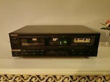 Technics Stereo Double Cassette Deck Rs-tr265
